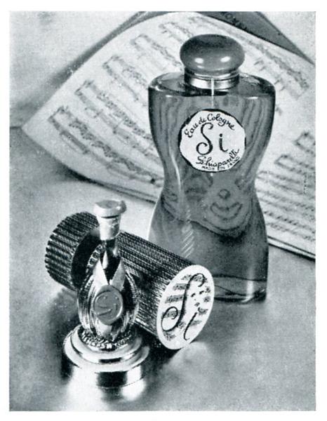 1958 SCHIAPARELLI Si! fragrance France