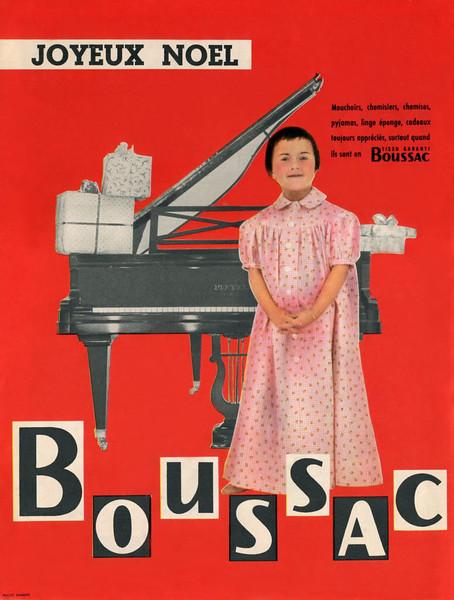 1958 BOUSSAC homewear France (Elle)