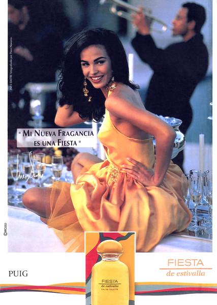 1992 PUIG Fiesta de Estivalia fragrance Spain (Hola)