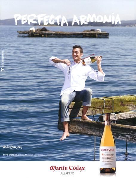 2016 MARTIN CÓDAX white wine: Spain (Vogue Living)