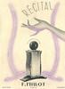 1939 MILLOT Récital fragrance: France