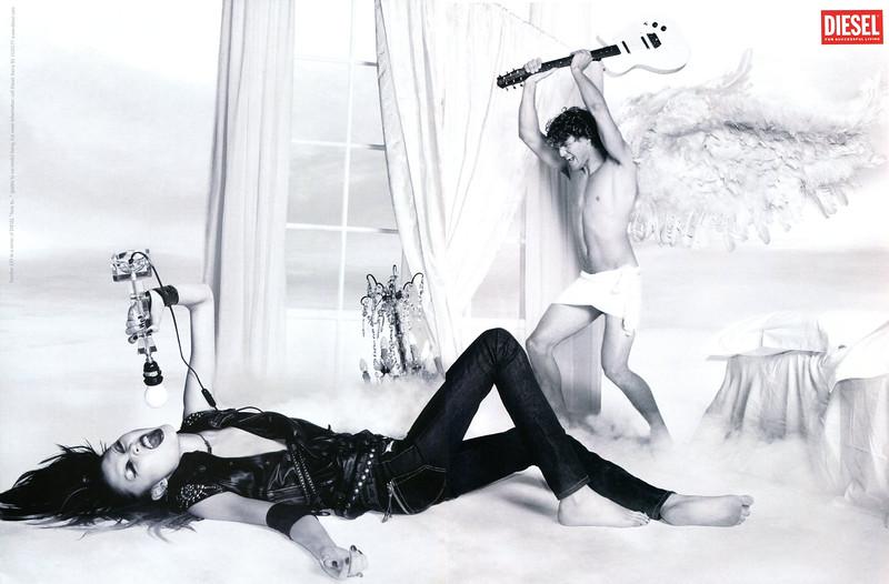2006 DIESEL clothing & accessories Spain (spread Vogue)