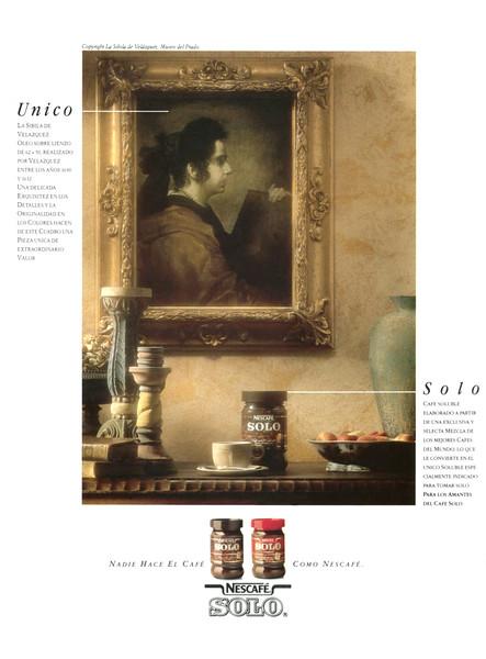 1990 NESCAFÉ instant coffee Spain (Rutas del Mundo)