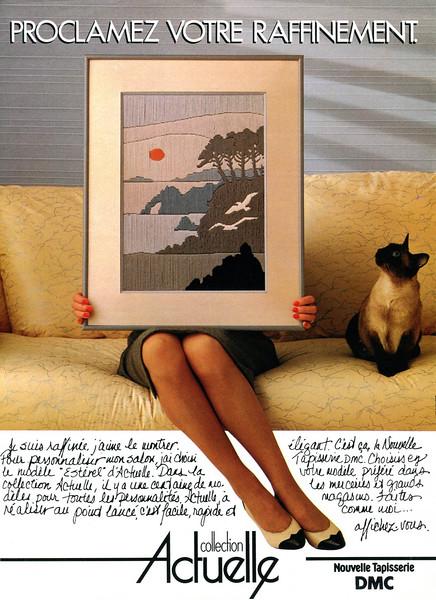 1983 DMC Actuelle tapestry France (Elle)