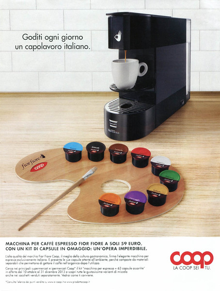 2013 COOP coffee machine Italy (Gioia)