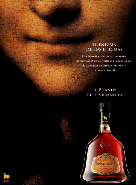 1995 OSBORNE Conde de Osborne brandy Spain (Dominical) 'The enigma of enigmas'