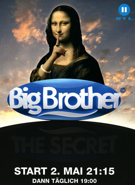 2011 BIG BROTHER The Secret RTL reality show Germany