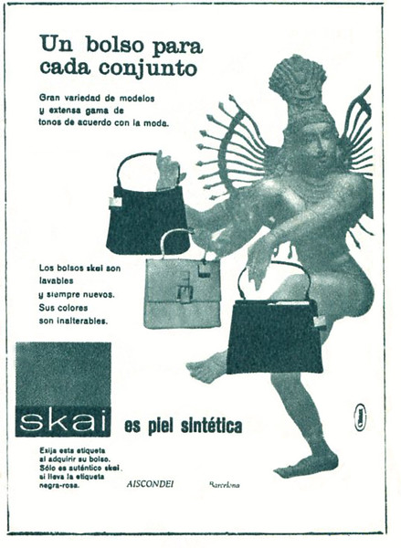 1961 SKAI fake leather bags Spain (Garbo)