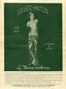 1936 GELÉE-MITZA fat reducing gel Spain (El Hogar y la Moda)