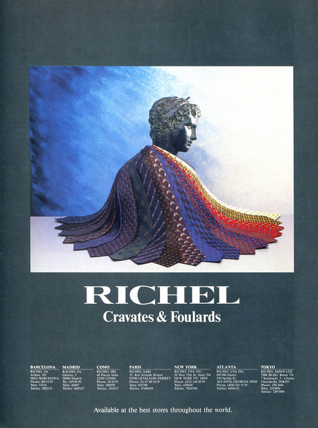 1989 RICHEL neckties Spain (Ronda Iberia)