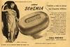 BOHEMIA perfumed soap 1950 Argentina half page 'Jabón Bohemia confiere a todo su cuerpo una fragancia deliciosa'