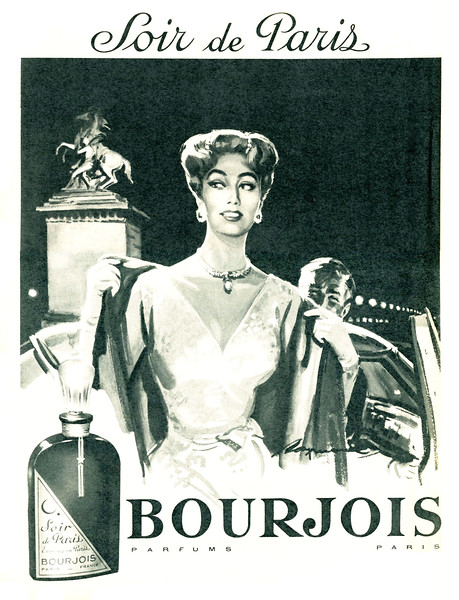 1958 BOURJOIS Soir de Paris fragrance France