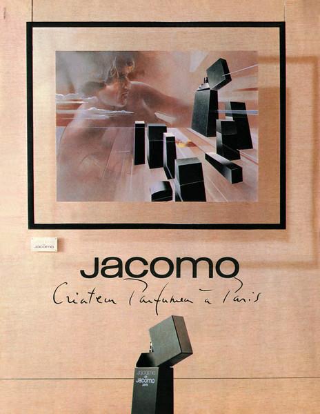 1982 Jacomo de JACOMO cologne France