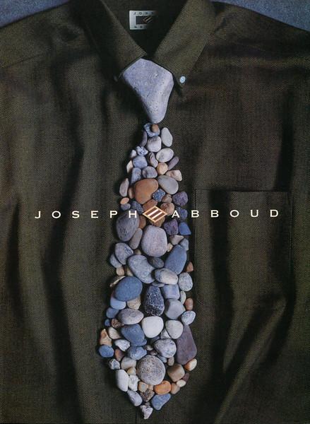 1998 JOSEPH ABBOUD men's wear Italy (Vogue Uomo)