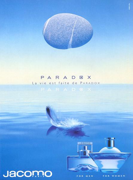 2000 JACOMO Paradox fragrance: Canada