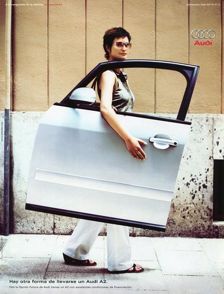 2002 AUDI cars Spain (Vogue)