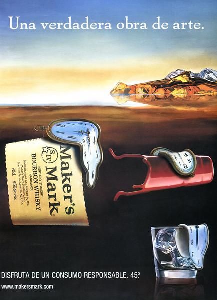 2010 MAKER'S MARK whisky Spain (Gentleman) 'A true work of art'