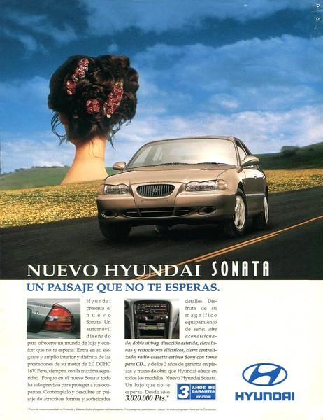 1996 HYUNDAI cars Spain (Dominical)