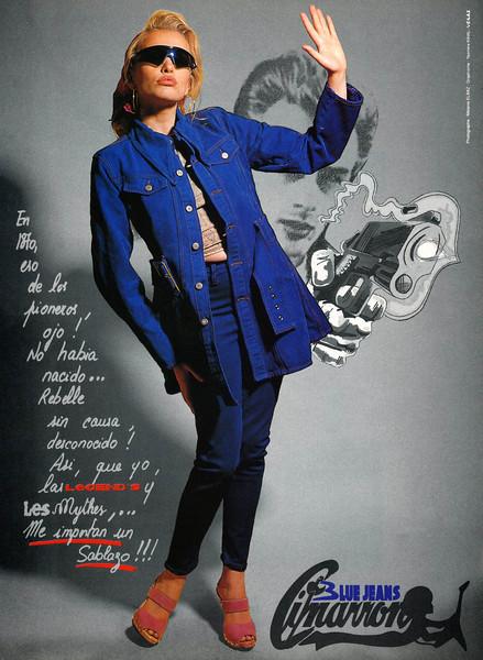 1992 CIMARRON jeans Spain (Elle)