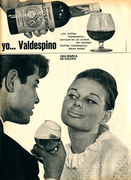 1965 VALDESPINO brandy Spain (La Actualidad Espanola)