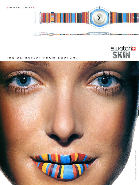 2002 SWATCH Skin watches Spain (Elle)