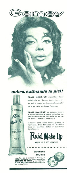 1961 GEMEY make up Spain (Hola)