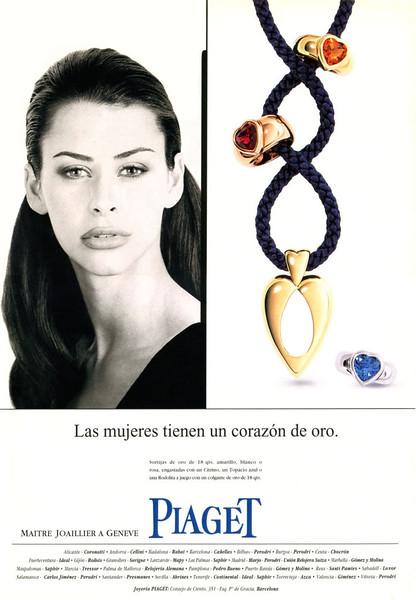 1997 PIAGET ewellers Spain (Hola)