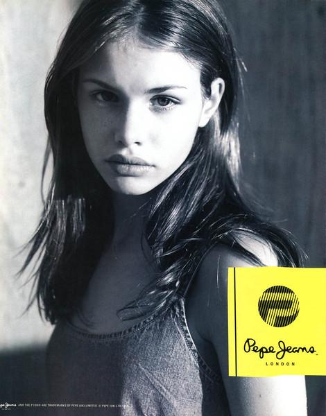 1997 PEPE JEANS denim Spain (Elle Top Model)