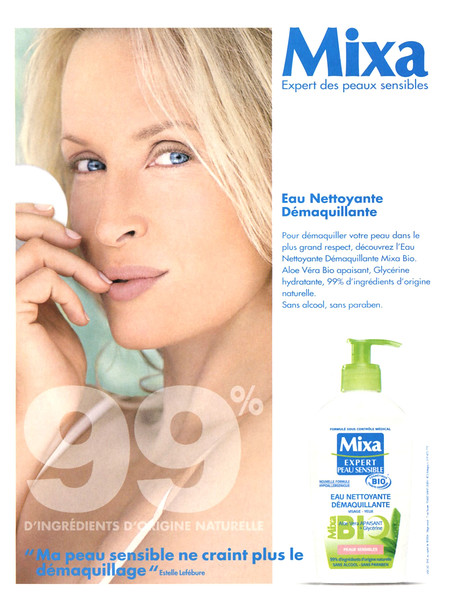 2012 MIXA face cleanser France (Biba)