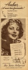1950 MAX FACTOR make up 1950 Argentine (half page Estampa)