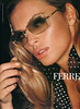 2002 FERRE eyewear Spain (Elle) featuring Esther Cañadas