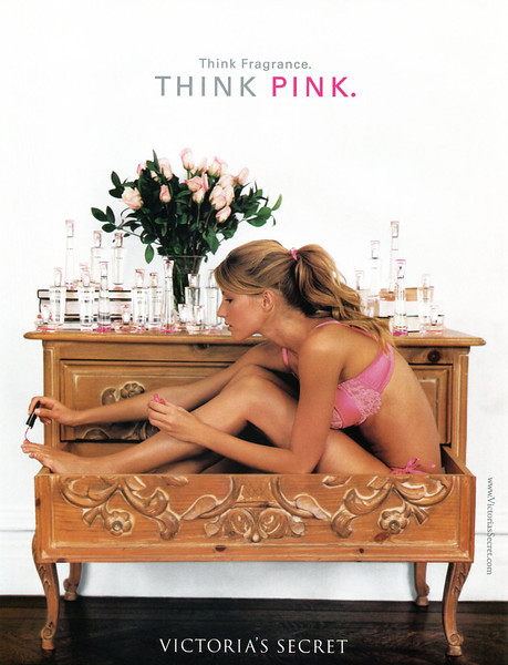 2001 VICTORIA'S SECRET Pink fragrance US (Beauty Facts)