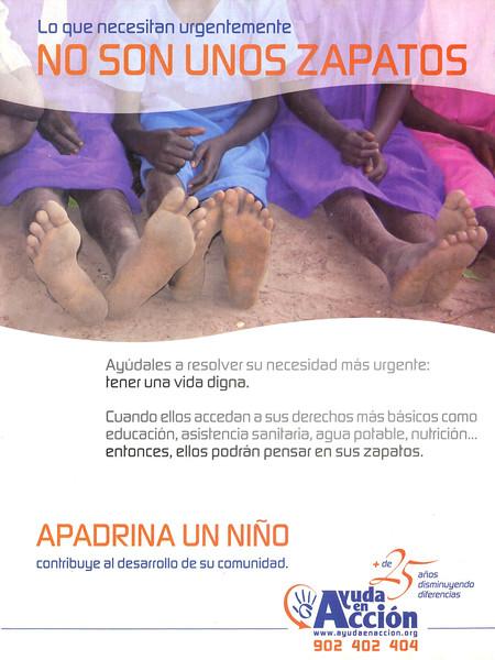 2008 AYUDA EN ACCIÓN charity Spain (Telva)