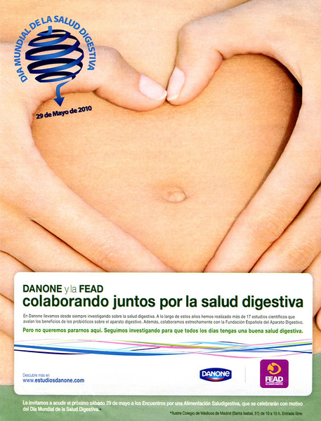2010 DANONE Day of Digestive Health Spain (YoDona mag)