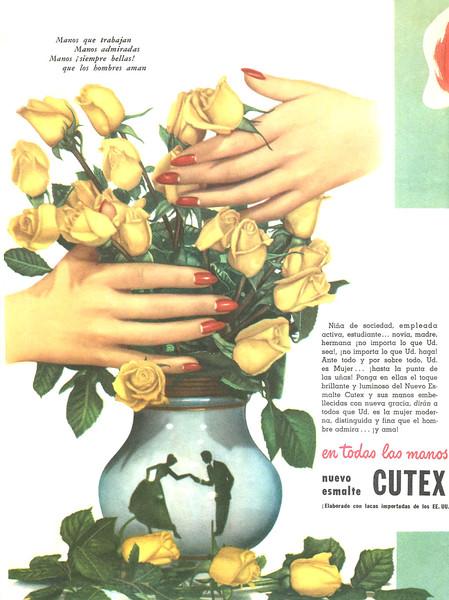 1948 CUTEX nail lacquer Argentina (Para Ti)