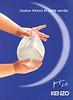 KENZO Parfum d'Été 1998 France 'Joyeux Kenzo et belle année'