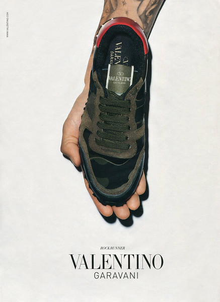 2015 VALENTINO trainers: Italy (Vanity Fair) by & featuring Terry Richardson