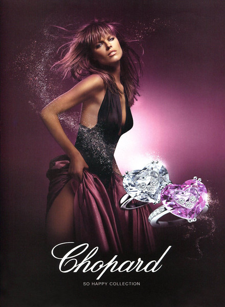 2006 CHOPARD jewellers Spain (Elle) featuring Eva Herzigova