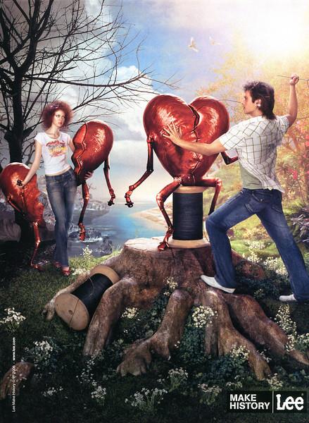 2006 LEE jeans Spain (Marie Claire)