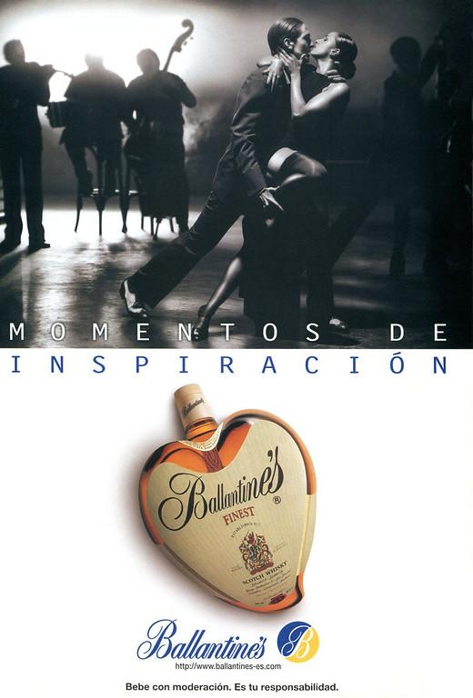 1998 BALLANTINE'S whisky Spain (NG)