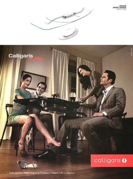 2012 CALLIGARIS furniture Italy (Myself)