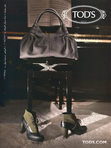 2011 TOD'S footwear United Arab Emirates (Sayidaty)
