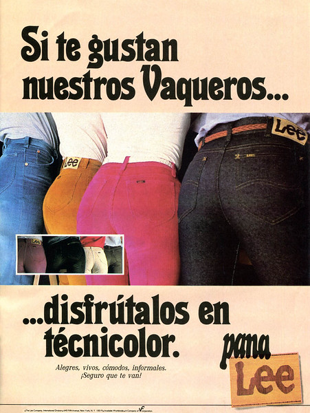 1980 LEE jeans Spain (Penthouse)