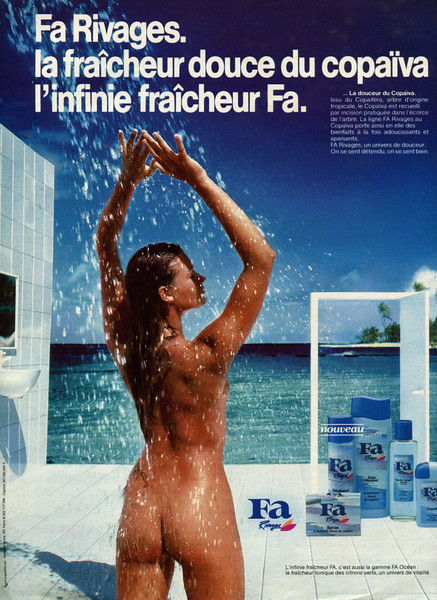 1984 FA Rivages toiletries France