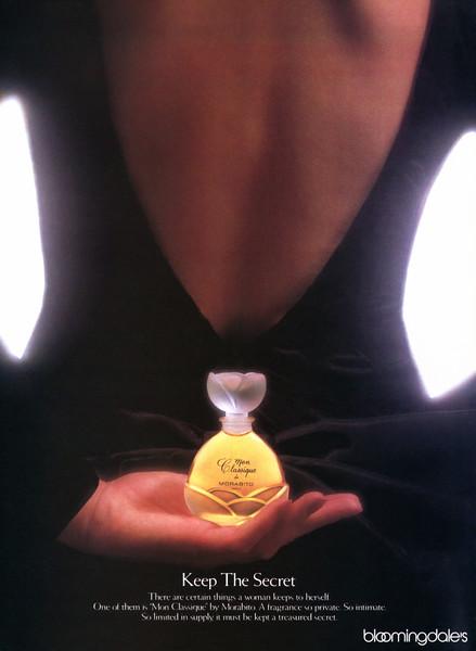 1987 Mon Classique de MORABITO fragrance: US