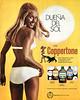 1971 COPPERTONE sun tan lotions Spain (Telva)