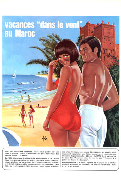 1967 MOROCCO as travel destination France