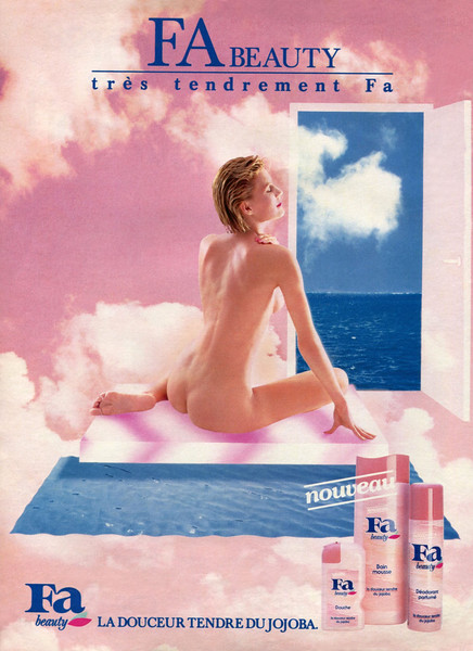 1983-1984 FA Beauty toiletries France
