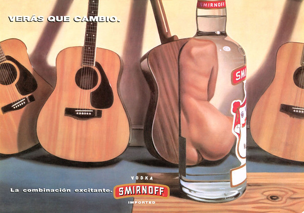 1994 SMIRNOFF vodka Spain (Woman)