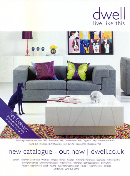 2010 DWELL furniture stores: UK (In Style)